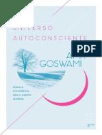 Amit Goswami O Universo Autoconsciente