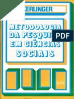 [Kerlinger] - Metodologia da Pesquisa em Ciências Sociais - Cap 1-5.pdf