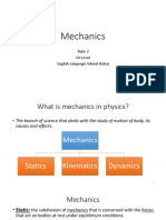 Alevel Topic 2 Mechanics.pptx