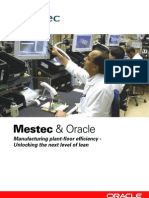 Oracle Mestec Brochure