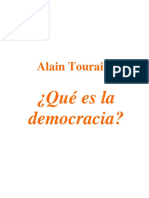 149970752 Alain Touraine Que Es La Democracia PDF
