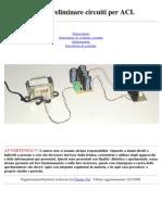 Studio Preliminare Circuiti Per ACI