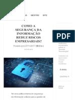 Toccato - Como Segurança Informação Reduz Riscos Empresariais