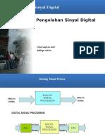 SUB Pengolahan Sinyal Digital