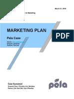 pela marketing plan