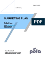 pela marketing plan