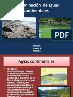 Contaminación de Aguas Continentales
