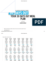 30 Days Out Calculator Results