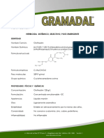 Ficha Técnica Gramadal
