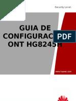 Guia de Configuracion ONT HG8245H