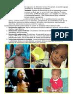 Tipos de Desnutrición
