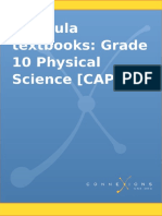 Siyavula Textbooks Grade 10 Physical Science Caps 7.2