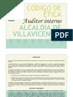 CÓDIGO de ÉTICA Auditori Interno Alcaldia