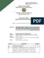 Sentencia Justicia y Paz Sobre Comandos Armados Del Pueblo