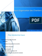 Cours Organisation Des Chantiers