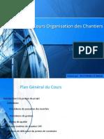 Cours Organisation Des Chantiers