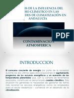 Análisis de La Influencia Del Cambio Climático