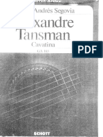 270597804 Cavatina Alexandre Tansman
