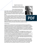 Biografía de Eugène Ionesco
