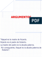Diagramacion de Argumentos