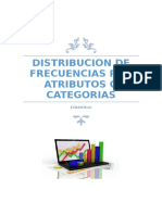 Distribucion de Frecuencias Por Atributos o Categorias