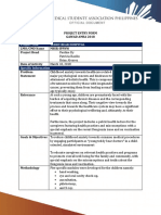 Project Entry Form