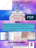Reiki Terapia Alternativa- Farmacognosia