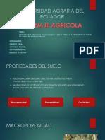 propiedades del suelo relacionado al drenaje