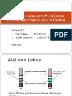 (REVISI) Peran Two Locus and Multi Locus Genetic Inheritance.pptx