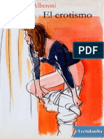 El Erotismo - Francesco Alberoni