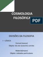 COSMOLOGIA FILOSÓFICA