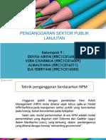Penganggaran Sektor Publik Lanjutan-Kelompok 9