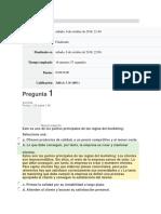 Evaluación Marketing Avanzado Unidad 1 - Asturias