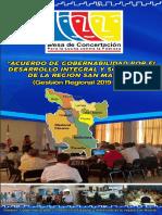 Acuerdo de Gobernabilidad Por El Desarrollo Integral y Sostenible de La Región San Martín