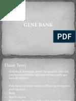 Slide Gene Bank