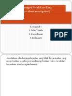 PP Investigasi K3