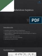 Hidatidosis hepática