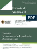 Unidad 4 Revoluciones e Independencias Latinoamericanas (Avances)