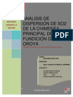 Analisis de Dispercion de s02