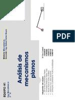 Análisis de Mecanismos Planos(1)