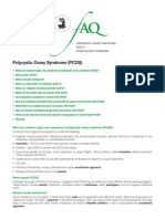 Polycystic Ovary Syndrome FQA