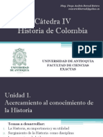Cronograma de clases y exposiciones Cátedra IV Caucasia