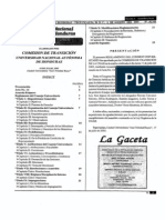 Reglamento Consejo Universitario