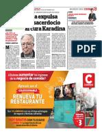 Papa Kardima - Correo Arequipa setiembre 2018