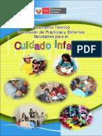 Promocion de Practicas y Entornos Saludables Para El Cuidado Infantil