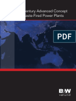 Advanced Concept for Waste-fired Power Plants