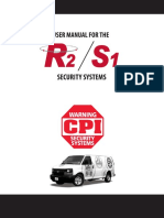 manual r2 s1 security systems