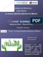 Plan de Negocios Power Company