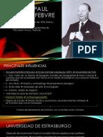 Lucien Febvre y La Escuela de Los Annales