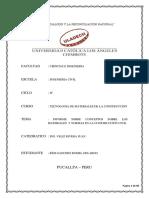 Informe de Tecnologia de Materiales